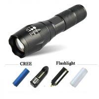 Đèn pin tự vệ UltraFire T10 siêu sáng mạnh xa CAO CẤP BỀN ĐẸP