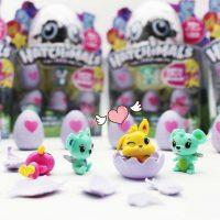 4 quả trứng hatchimal cảm ứng siêu dễ thương