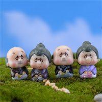 Ông bà anh siêu dễ thương mini phụ kiện trang trí tiểu cảnh terrarium v2