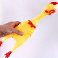 Gà bóp kêu Shrilling Chicken quà tặng hài hước 30cm
