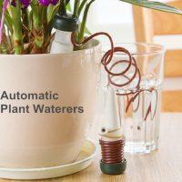 2 bộ dụng cụ tưới nước nhỏ giọt tự động cho cây trồng