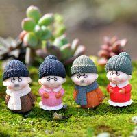 Ông bà anh siêu dễ thương mini phụ kiện trang trí tiểu cảnh terrarium v3
