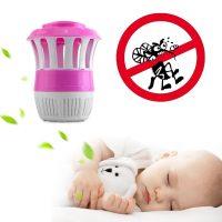 Đèn Bắt Muỗi LED UV Cổng USB Siêu Tiện Lợi