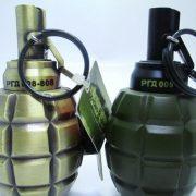 Hộp quẹt gas lửa khò Lựu đạn cà na version 1