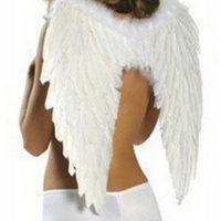 Đôi cánh thiên thần lông vũ 55 x 40 cm hóa trang Halloween