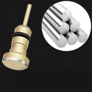2 nút ALUMINUM chống bụi tai nghe và cổng sạc usb 3.1 type c