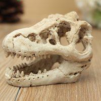 Sọ khủng long Skull Crawler Dragon Lizard Aquarium Trang Trí Bể Cá