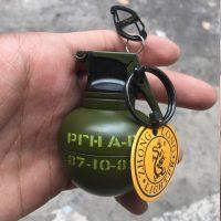 Hộp quẹt gas lửa khò Lựu đạn cà na version 2