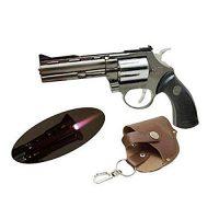BẬT LỬA HỘP QUẸT GAS LỬA KHÒ KIỂU DÁNG SÚNG Revolver Ổ đạn tay quay