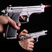 BẬT LỬA HỘP QUẸT GAS LỬA KHÒ KIỂU DÁNG SÚNG Pistol M90