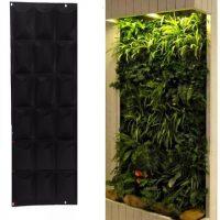 Túi Vải trồng cây treo tường 21 túi