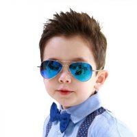 Kính mát tráng gương hàn quốc thời trang thích hợp cho cả bé trai và bé gái