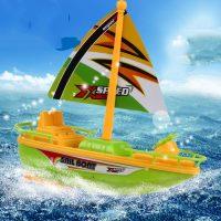 Đồ chơi mô hình thuyền buồm tàu thủy chạy trên nước Child Boats Mini