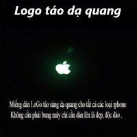 LOGO TÁO APPLE PHÁT SÁNG DẠ QUANG Cho IPhone