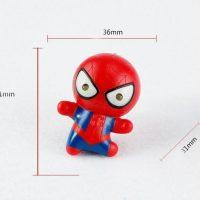 Móc khóa mô hình NGười nhện Marvel Spider Man đèn led có âm thanh