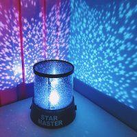 Đèn Ngủ Chiếu Sao star master tăng sự ấm áp lãng mạn cho phòng ngủ