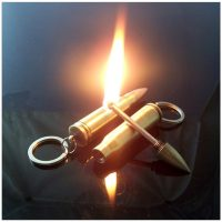 Hộp quẹt viên đạn đá lửa magnesium dùng xăng có thể sử dụng 10000 lần