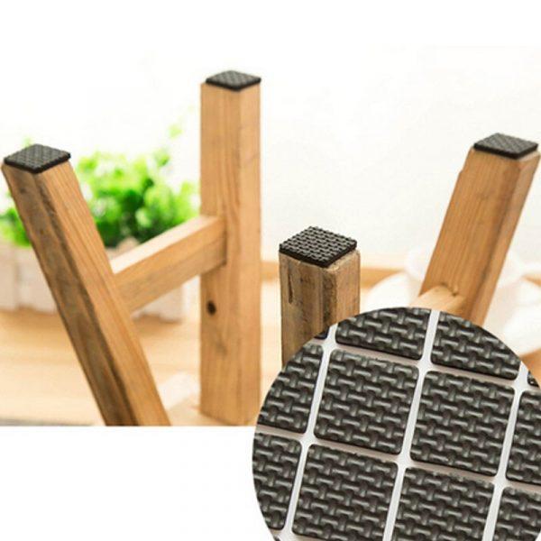 Bộ 15 miếng lót chân bàn ghế kệ giúp chống trầy xướt giảm ồn
