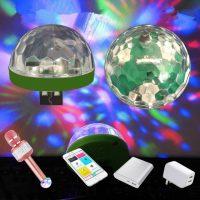 USB led 7 màu ánh sáng chớp nháy đèn bar vũ trường Mini