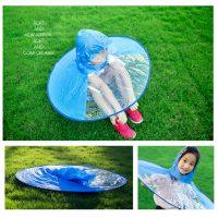 Áo mưa con vịt kiểu dáng ufo cho bé siêu kute