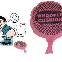Đồ chơi bao túi đánh rắm thả boom xì hơi Whoopee Cushion