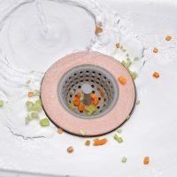 Dụng cụ lọc rác cho bồn rửa chén bát nắp cống