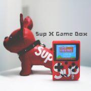 Máy chơi game cầm tay SUP RETRO 400 games pin sạc