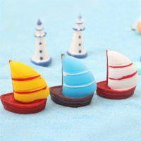Thuyền buồm mini PHỤ KIỆN TRANG TRÍ TIỂU CẢNH TERRARIUM