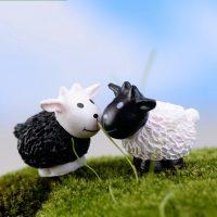 Con cừu đen trắng MINI PHỤ KIỆN TRANG TRÍ TIỂU CẢNH TERRARIUM