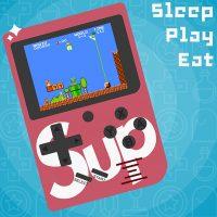 Máy chơi game cầm tay SUP RETRO 168 games pin sạc
