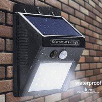 Đèn led 20 bóng năng lượng mặt trời cảm ứng hồng ngoại thông minh