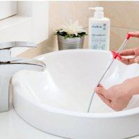 Dụng cụ thông tắc bồn lavabo chậu rửa mặt ống cống thoát nước