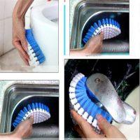 Bàn chải đa năng uốn cong vệ sinh các góc hẹp
