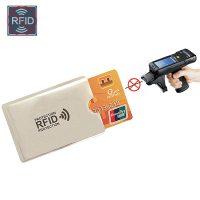ví nhôm đựng thẻ card chống RFID bảo vệ thông tin cá nhân