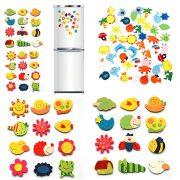 10 miếng dán nam châm trang trí tủ lạnh ngộ nghĩnh