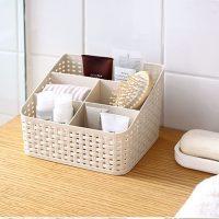 Khay nhựa để bàn văn phòng đa năng loại 5 ngăn