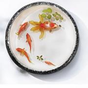 Decal tranh cá vàng 3D đẹp mê hồn giống như thật