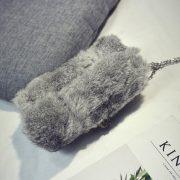 Túi xách cầm tay lông thỏ thời trang sang trọng đẳng cấp Luxury Bags