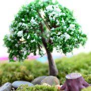 Cây tiểu cảnh kawaii mini phụ kiện trang trí terrarium