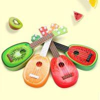 Đàn Guitar hoa quả màu sắc bắt mắt cho bé làm ca sỹ