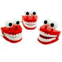 Đồ chơi hàm răng kinh dị VẶN CÓT Halloween Teeth WIND-UP