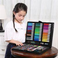 Hộp Bút Màu 150 chi tiết cho bé yêu thỏa sức đam mê làm họa sĩ