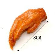 Móc khóa đồ ăn thịt gà cánh đùi chân
