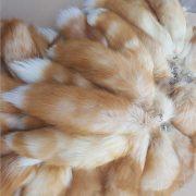 Móc khóa lông đuôi cáo lửa