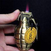 Hộp quẹt gas lửa khò Lựu đạn cà na version 5