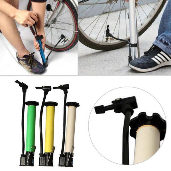 Ống bơm bánh xe đạp mini tiện lợi