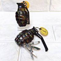 Hộp quẹt gas lửa khò Lựu đạn cà na version 4