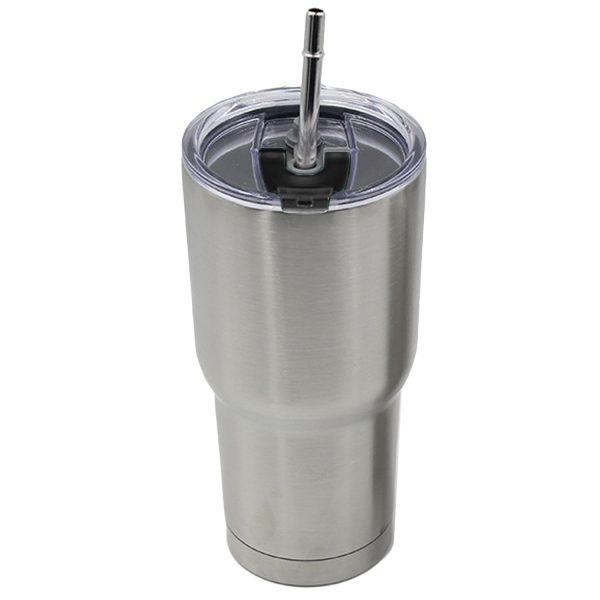 Ly Giữ Nhiệt INOX 2 Lớp Yeti 30oz 850ml Thái Lan kèm ống hút dụng cụ vệ sinh ly