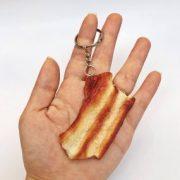 Móc khóa đồ ăn thịt heo sườn non ba rọi