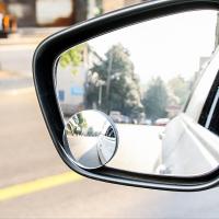 Bộ 2 gương cầu lồi 360 độ dán kính chiếu hậu giảm điểm mù cho xe ô tô